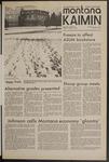 Montana Kaimin, December 1, 1971