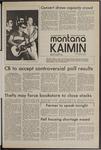 Montana Kaimin, January 11, 1972