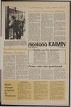 Montana Kaimin, January 20, 1972