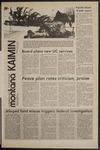 Montana Kaimin, January 27, 1972