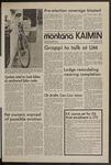 Montana Kaimin, March 3, 1972