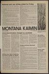 Montana Kaimin, April 19, 1972