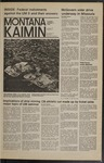Montana Kaimin, October 3, 1972