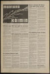 Montana Kaimin, November 1, 1973