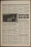 Montana Kaimin, April 3, 1974