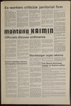 Montana Kaimin, October 9, 1974