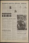 Montana Kaimin, October 23, 1974