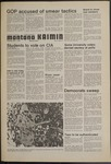 Montana Kaimin, November 7, 1974