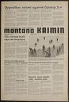 Montana Kaimin, January 14, 1975