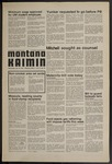 Montana Kaimin, January 22, 1975