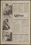 Montana Kaimin, May 13, 1975