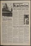 Montana Kaimin, November 20, 1979