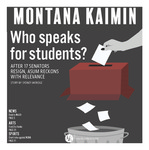 Montana Kaimin, March 13, 2019 by Students of the University of Montana, Missoula