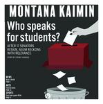 Montana Kaimin, March 13, 2019