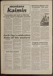 Montana Kaimin, April 18, 1980