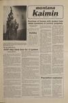 Montana Kaimin, November 7, 1980