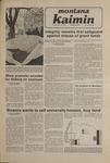 Montana Kaimin, November 14, 1980