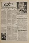 Montana Kaimin, November 21, 1980