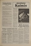 Montana Kaimin, November 26, 1980