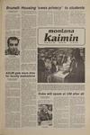 Montana Kaimin, December 2, 1980