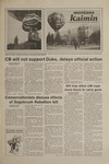 Montana Kaimin, January 22, 1981