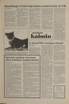 Montana Kaimin, November 25, 1981