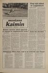 Montana Kaimin, January 8, 1981