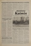 Montana Kaimin, January 14, 1981