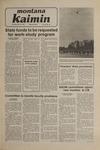 Montana Kaimin, January 15, 1981