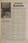 Montana Kaimin, January 16, 1981