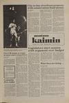 Montana Kaimin, November 3, 1981