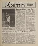 Montana Kaimin, September 28, 1984