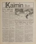Montana Kaimin, October 5, 1984