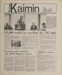 Montana Kaimin, October 12, 1984