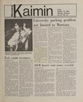 Montana Kaimin, October 19, 1984