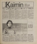 Montana Kaimin, October 25, 1984