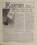 Montana Kaimin, November 9, 1984