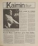Montana Kaimin, November 16, 1984