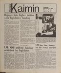Montana Kaimin, November 21, 1984