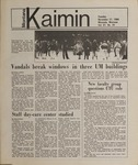 Montana Kaimin, November 27, 1984