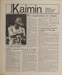 Montana Kaimin, November 28, 1984