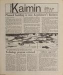 Montana Kaimin, November 29, 1984