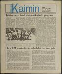 Montana Kaimin, January 11, 1985