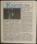 Montana Kaimin, January 25, 1985