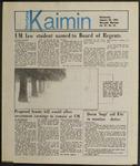 Montana Kaimin, January 30, 1985