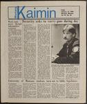 Montana Kaimin, February 15, 1985