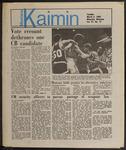Montana Kaimin, March 5, 1985