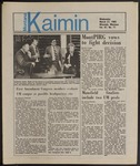 Montana Kaimin, March 27, 1985