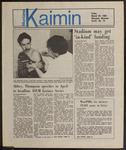 Montana Kaimin, March 29, 1985