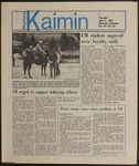 Montana Kaimin, April 4, 1985